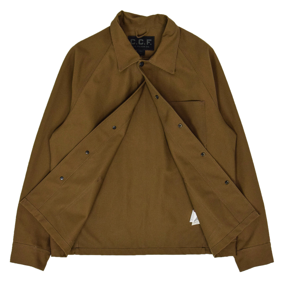 Filson CCF Duck Canvas Chore Coat Sepia internal