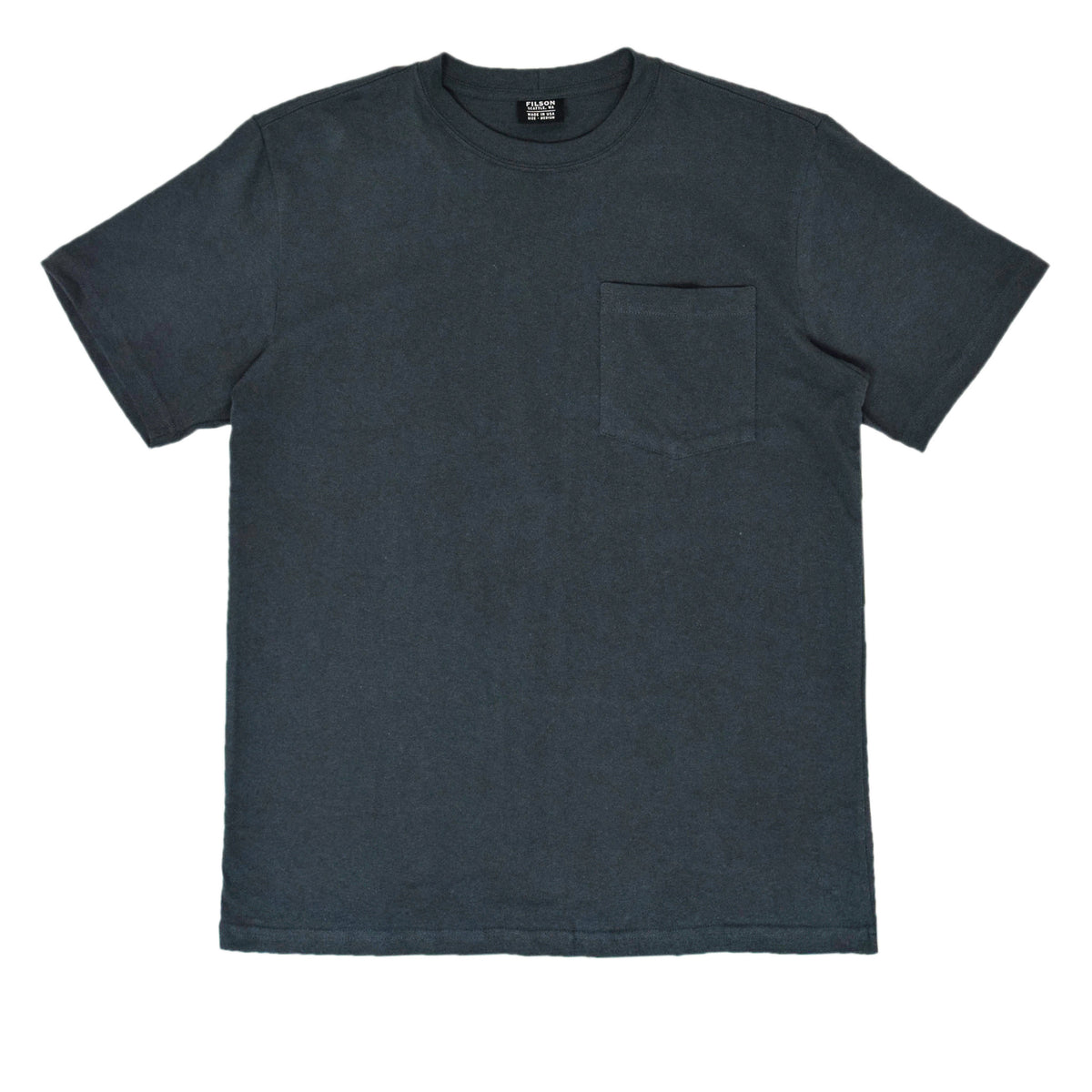 Filson Short Sleeve Outfitter One Pocket T-Shirt Ink Blue front