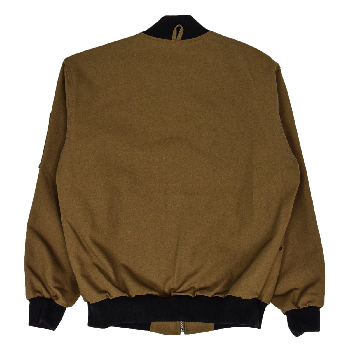 Filson CCF Duck Canvas Bomber Jacket Sepia BACK