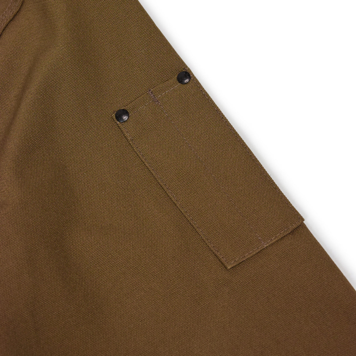Filson CCF Duck Canvas Bomber Jacket Sepia ARM DETAIL