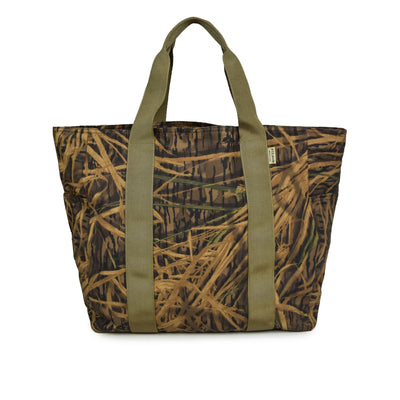 Filson x Mossy Oak Tin Cloth Shadow Grass Tote Bag Large front