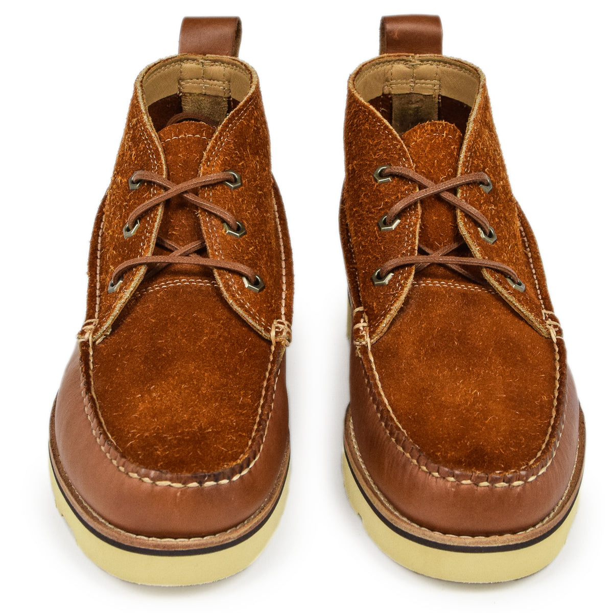 G.H. Bass & Co. Camp Moc III Ranger Boot Mid Tan Leather & Suede