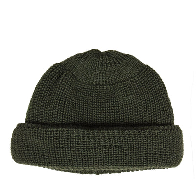 Heimat Wool Deck Hat Military Green front