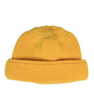 Heimat Virgin Wool Deck Hat Golden front