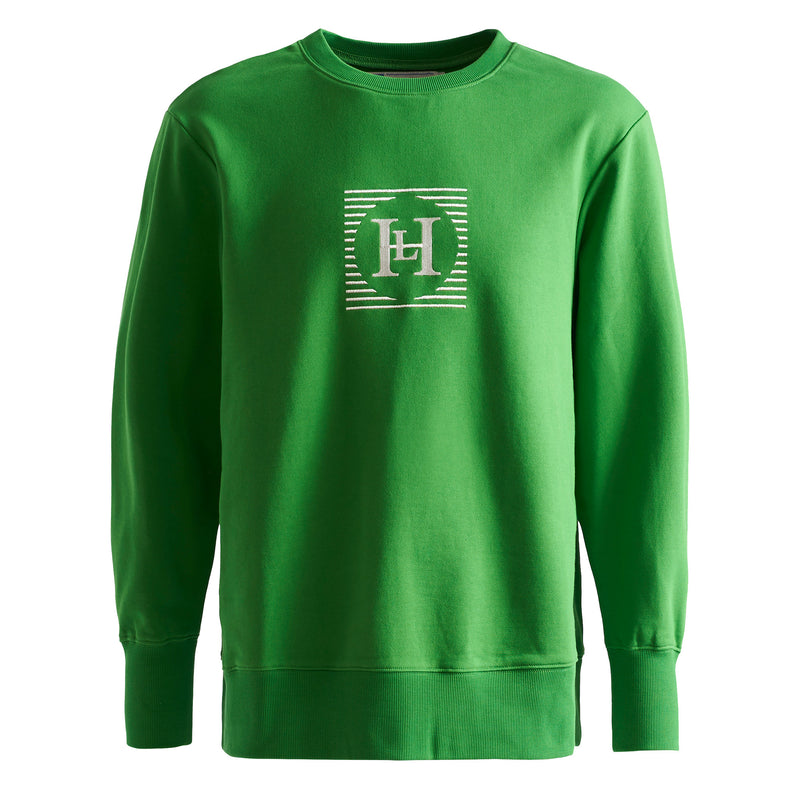 Henri Lloyd X Nigel Cabourn Technical Sweater Emerald Green Front