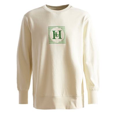Henri Lloyd X Nigel Cabourn Technical Sweater White Stone Front
