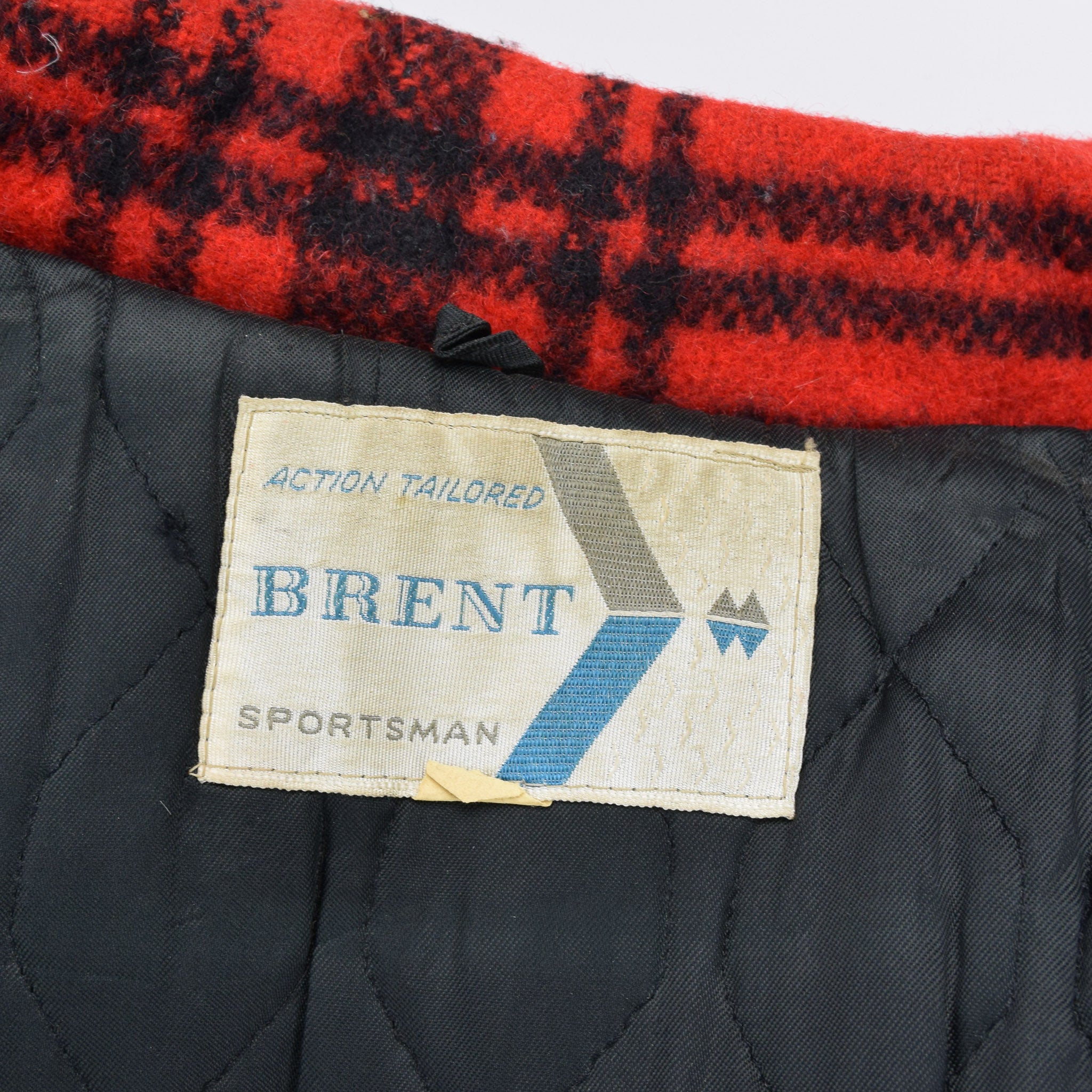 Vintage 60s Brent Sportsman Mackinaw Cruiser Hunting Jacket Buffalo Plaid M label