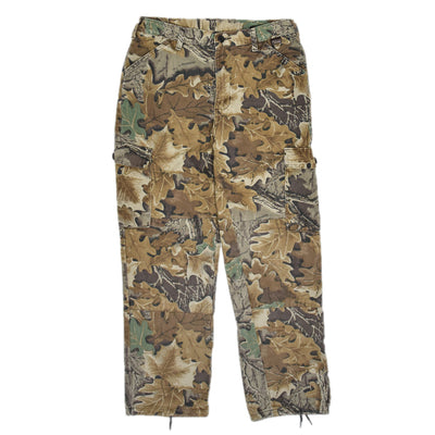 Vintage Walls USA Leaf Camo Hunting Cargo Pants Field Trousers Medium 30 - 32 W front