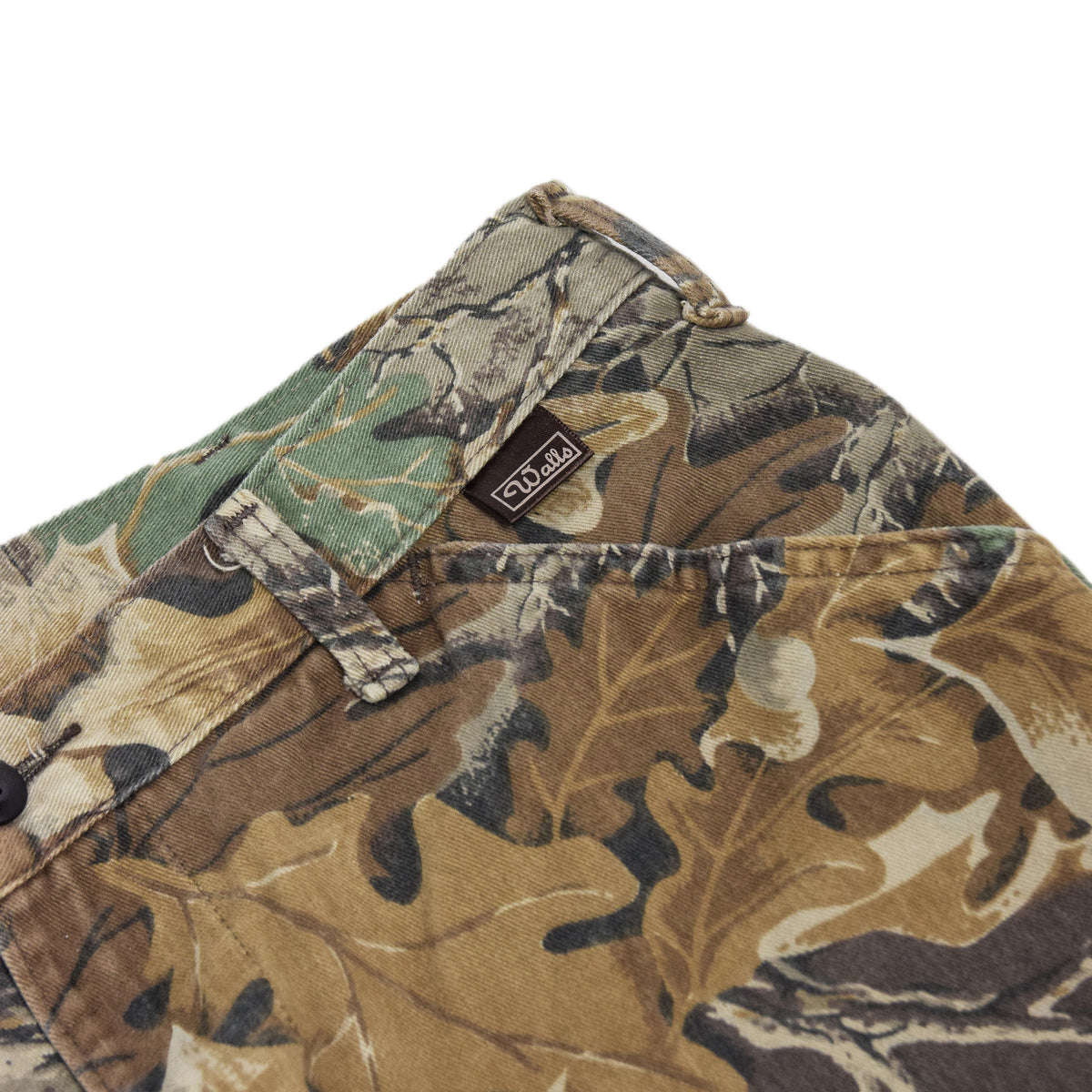 Vintage Walls USA Leaf Camo Hunting Cargo Pants Field Trousers Medium 30 - 32 W walls label