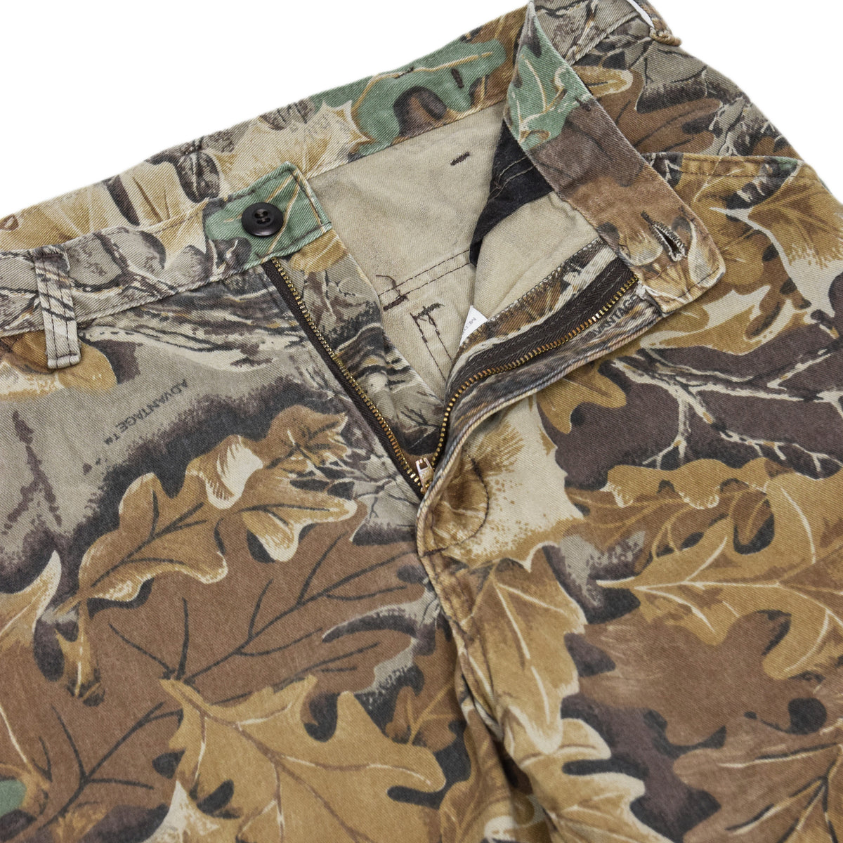 Vintage Walls USA Leaf Camo Hunting Cargo Pants Field Trousers Medium 30 - 32 W crotch