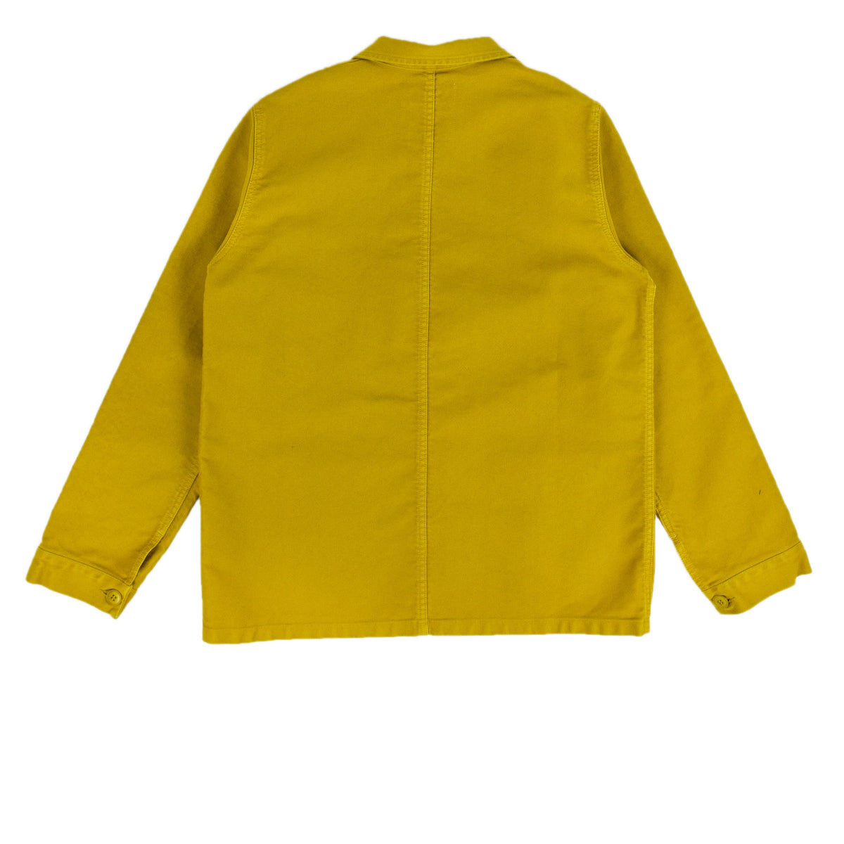 Le Mont St Michel Genuine Moleskin Work Jacket Citrus Back