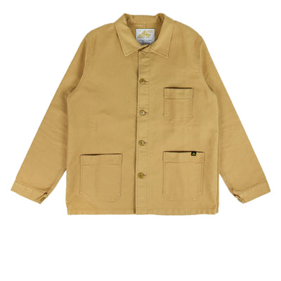 Le Mont St Michel Genuine Moleskin Work Jacket Kraft Front