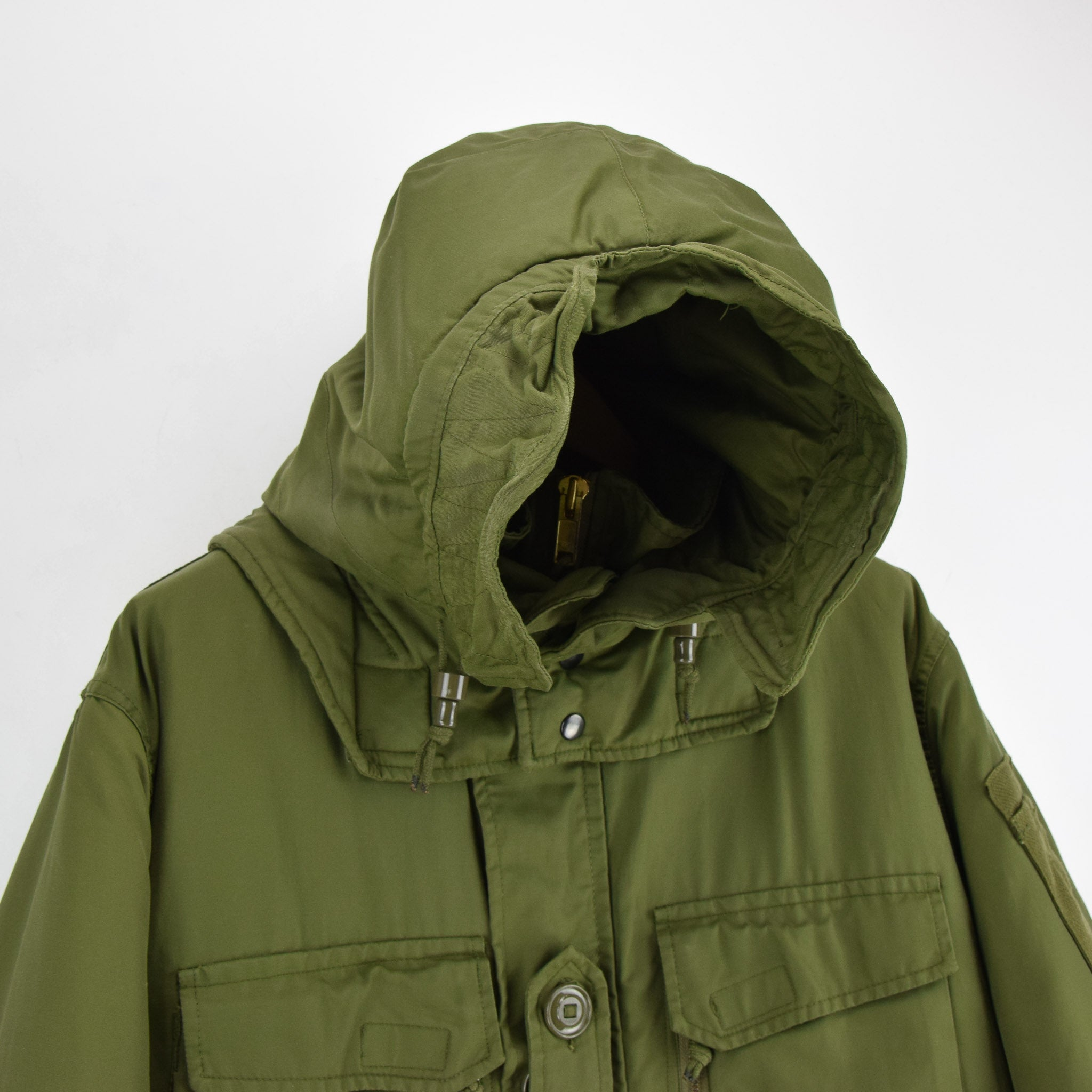 Canadian Army Arctic Winter Parka Heavy Duty Jacket Olive Green L