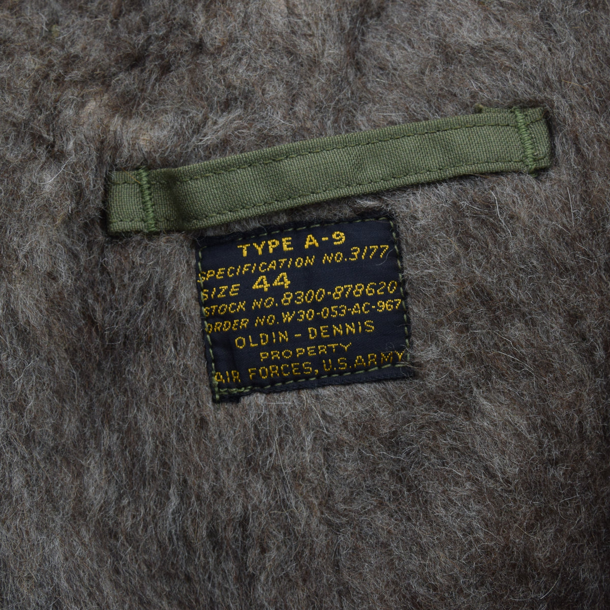 Rare Vintage 1940s WWII USAAF A-9 Alpaca Lined Flight Pant Trousers 38 LABEL