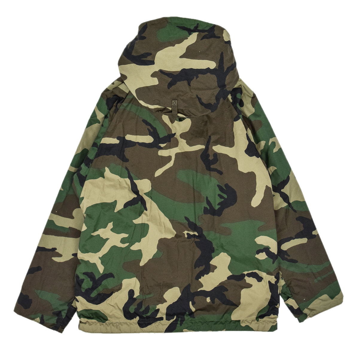 Vintage Reversible Military Hooded Desert & Woodland Camouflage Jacket M back
