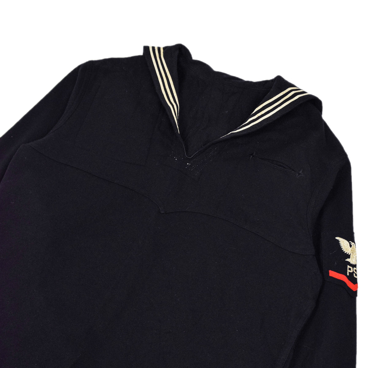 Deadstock Vintage WW2 US Navy Cracker Jack Military Wool Shirt M / L chest