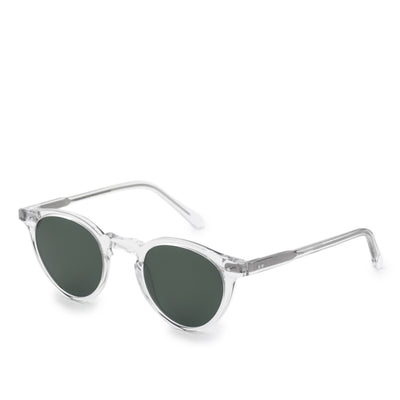 Monokel Forest Crystal Sunglasses Green Solid Lens side