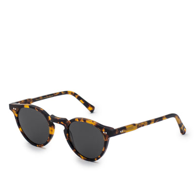 Monokel Forest Havana Sunglasses Grey Solid Lens side