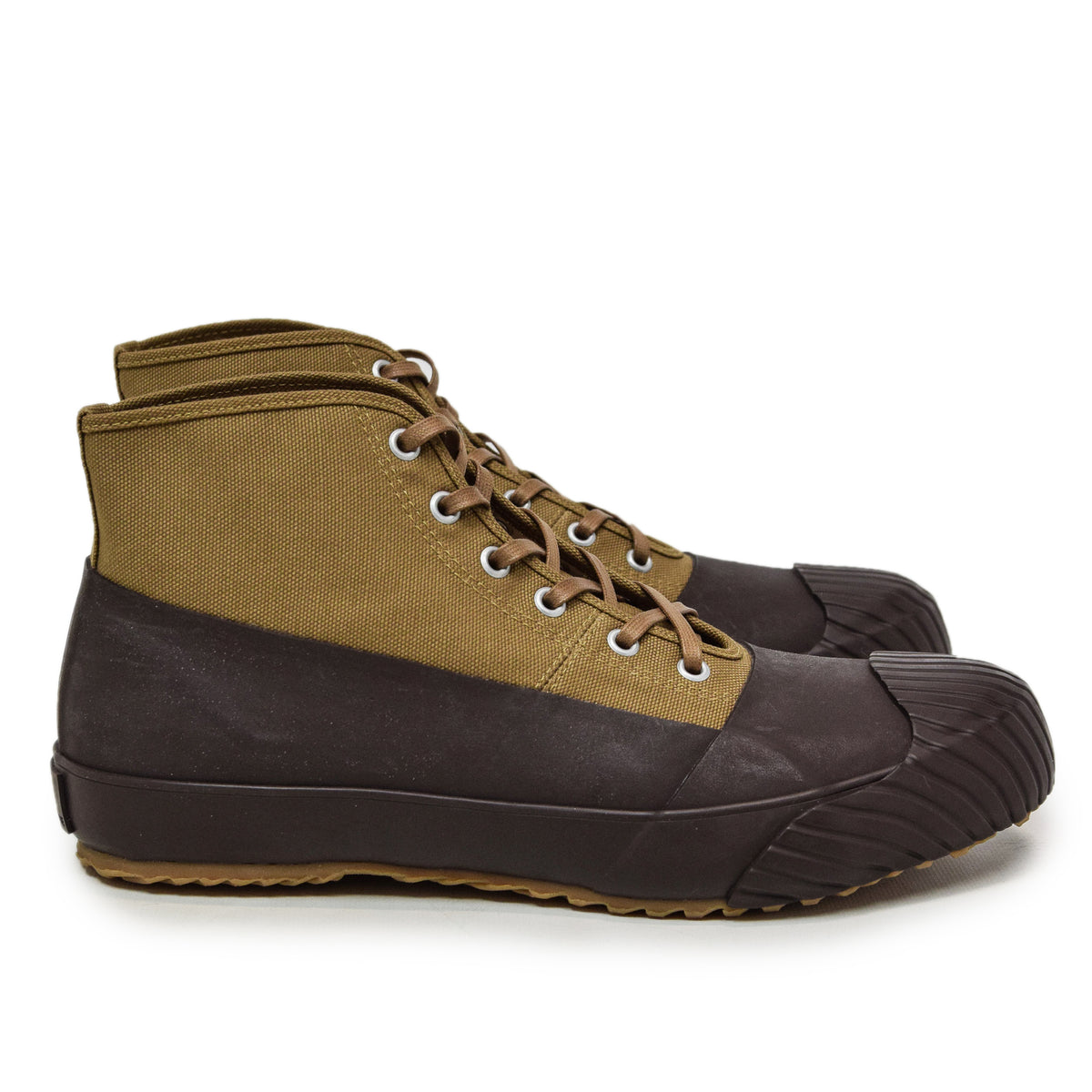 Moonstar Vulcanised Alweather Boot Brown Made In Japan side