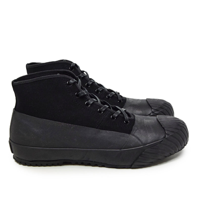 Moonstar Vulcanised Alweather Boot Black Made In Japan SIDE