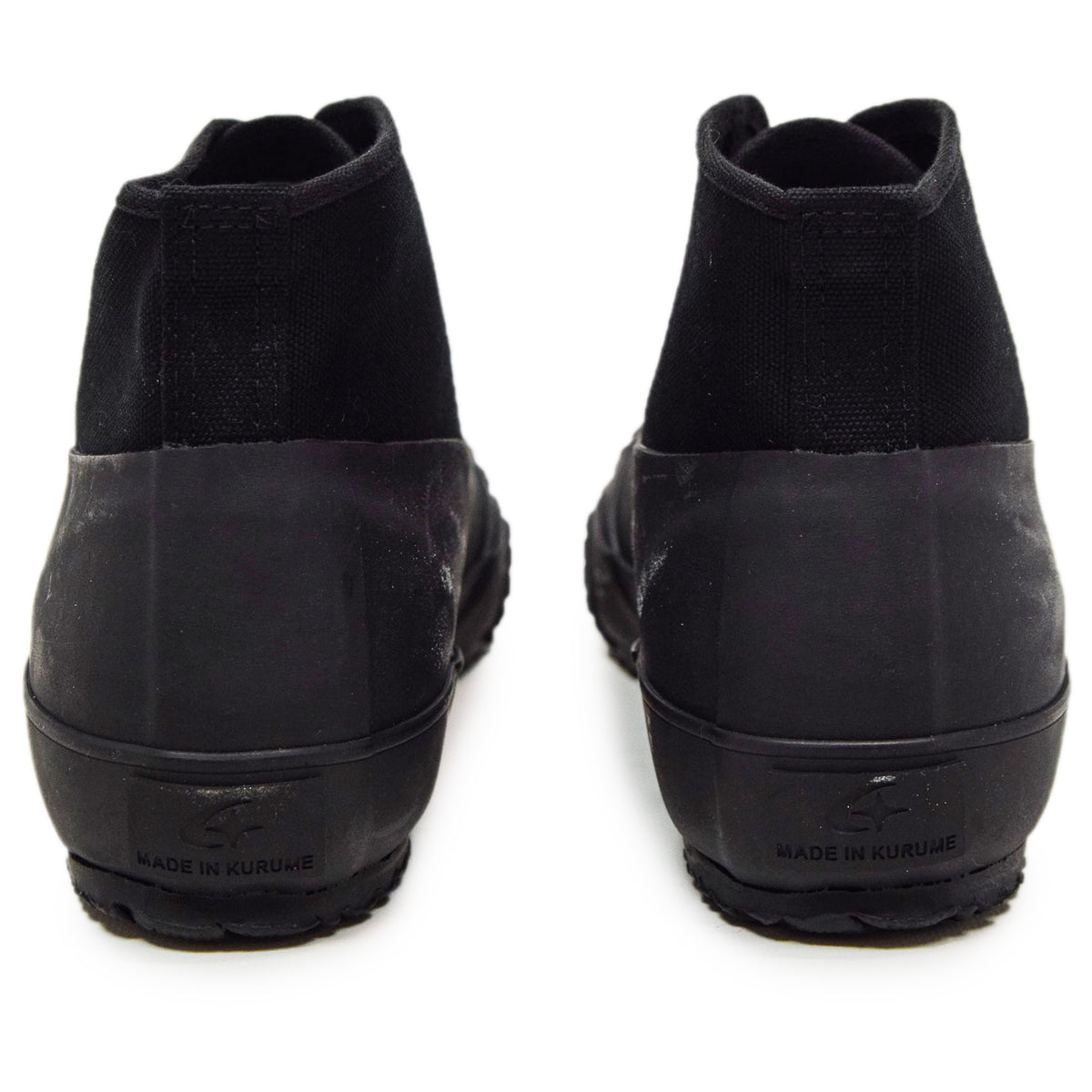 Moonstar Vulcanised Alweather Boot Black Made In Japan BACK