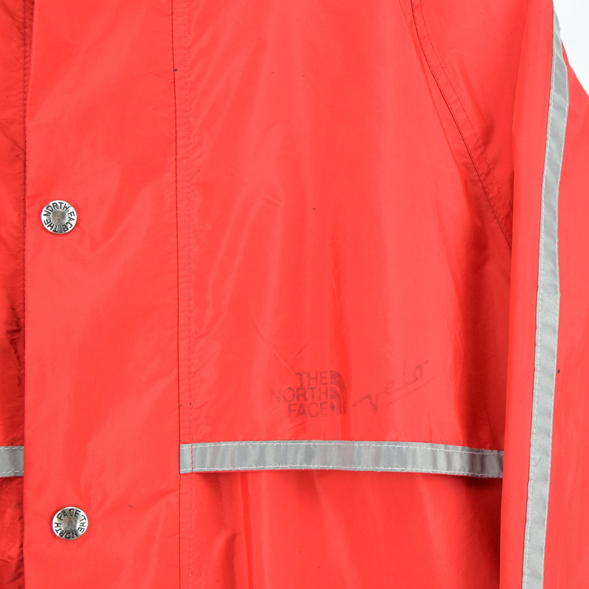 Vintage North Face Red Goretex Velo Biker Jacket Made in USA M detail