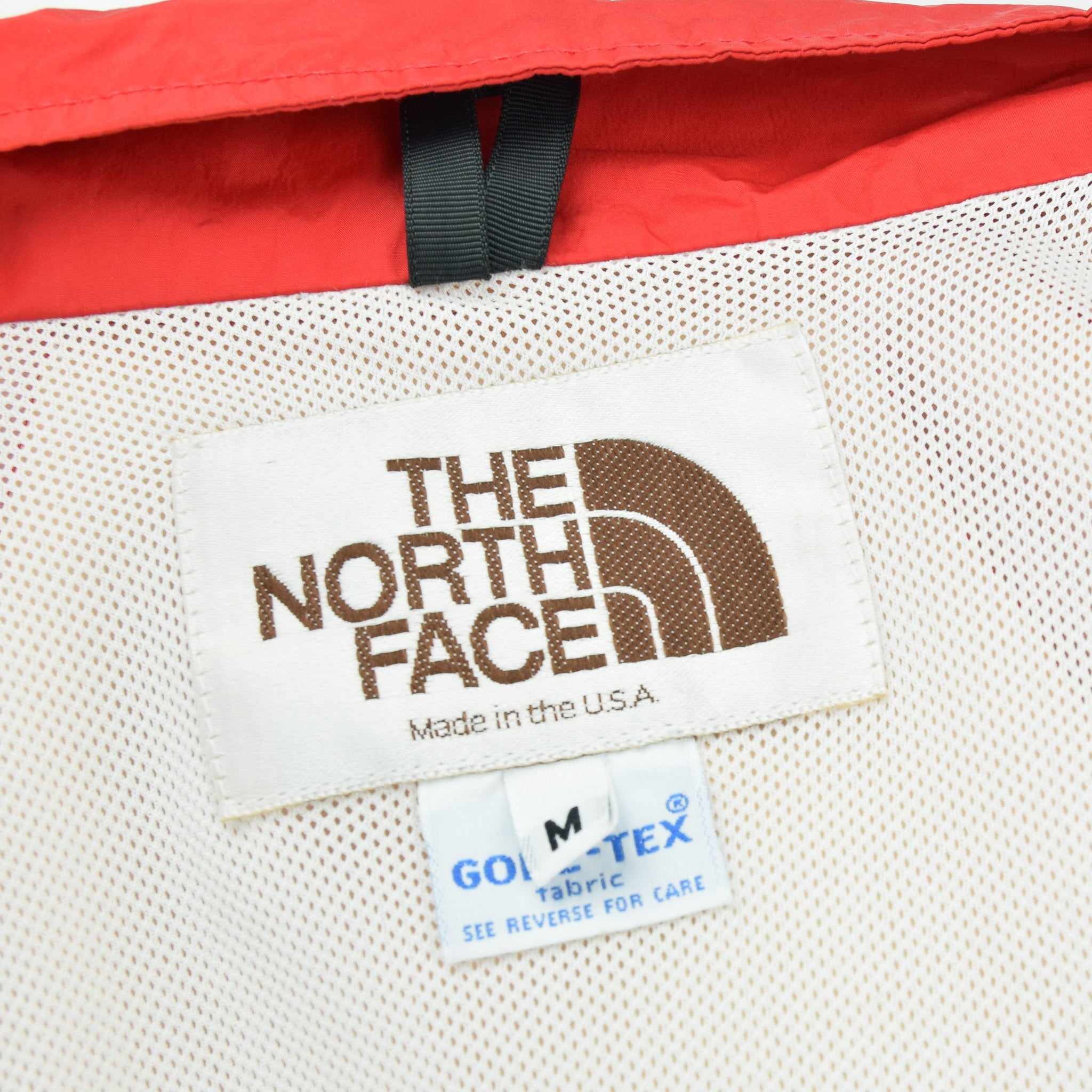 Vintage North Face Red Goretex Velo Biker Jacket Made in USA M label