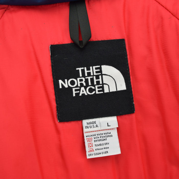 Vintage The North Face Gore-Tex Blue Mountain Parka Jacket Made in USA L label