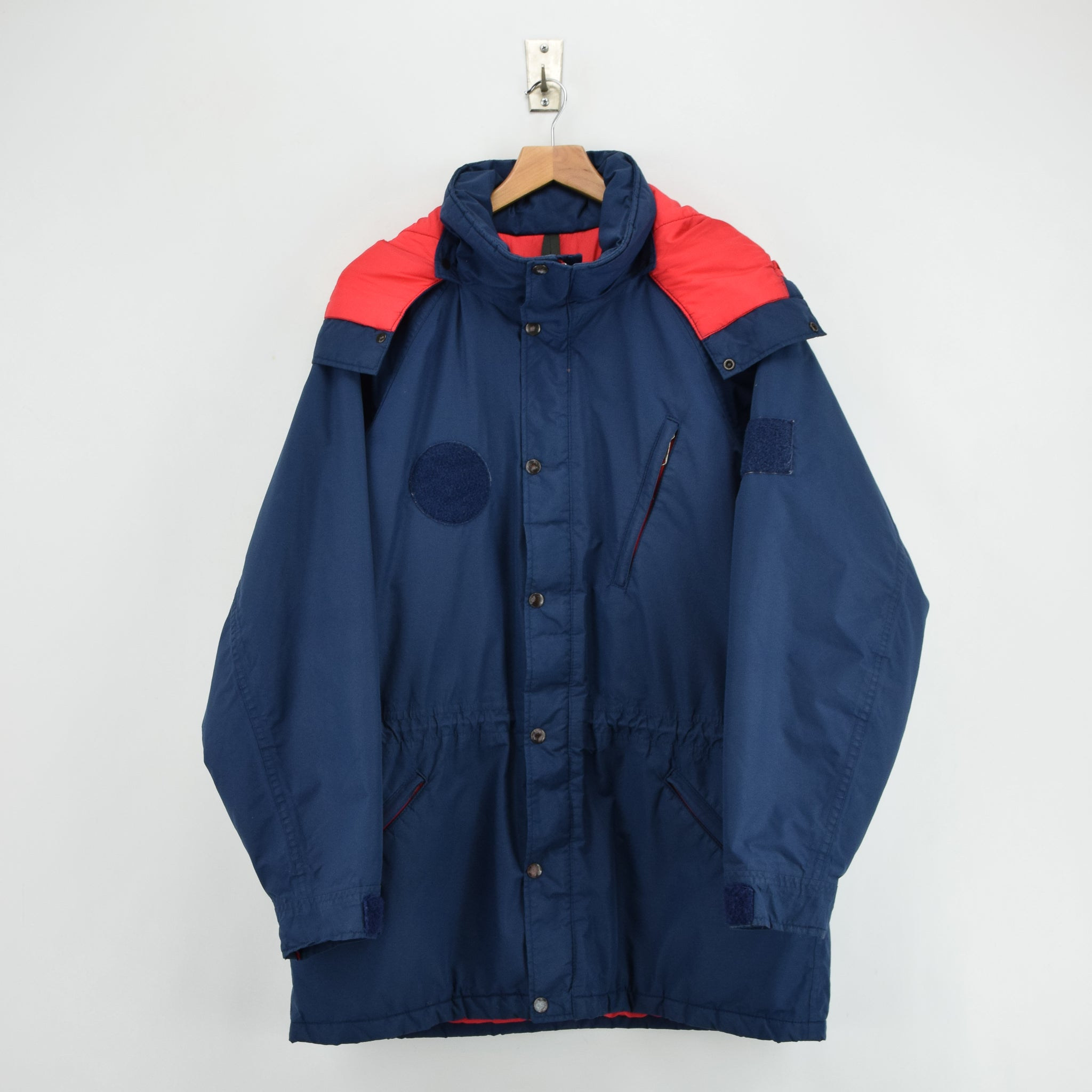 3f3cc4660 Vintage The North Face Gore-Tex Blue Mountain Parka Jacket Made in USA L