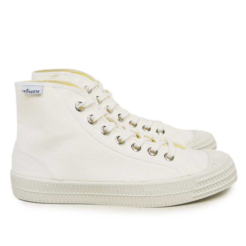 Novesta Natural Rubber Star Dribble High Tops White  side