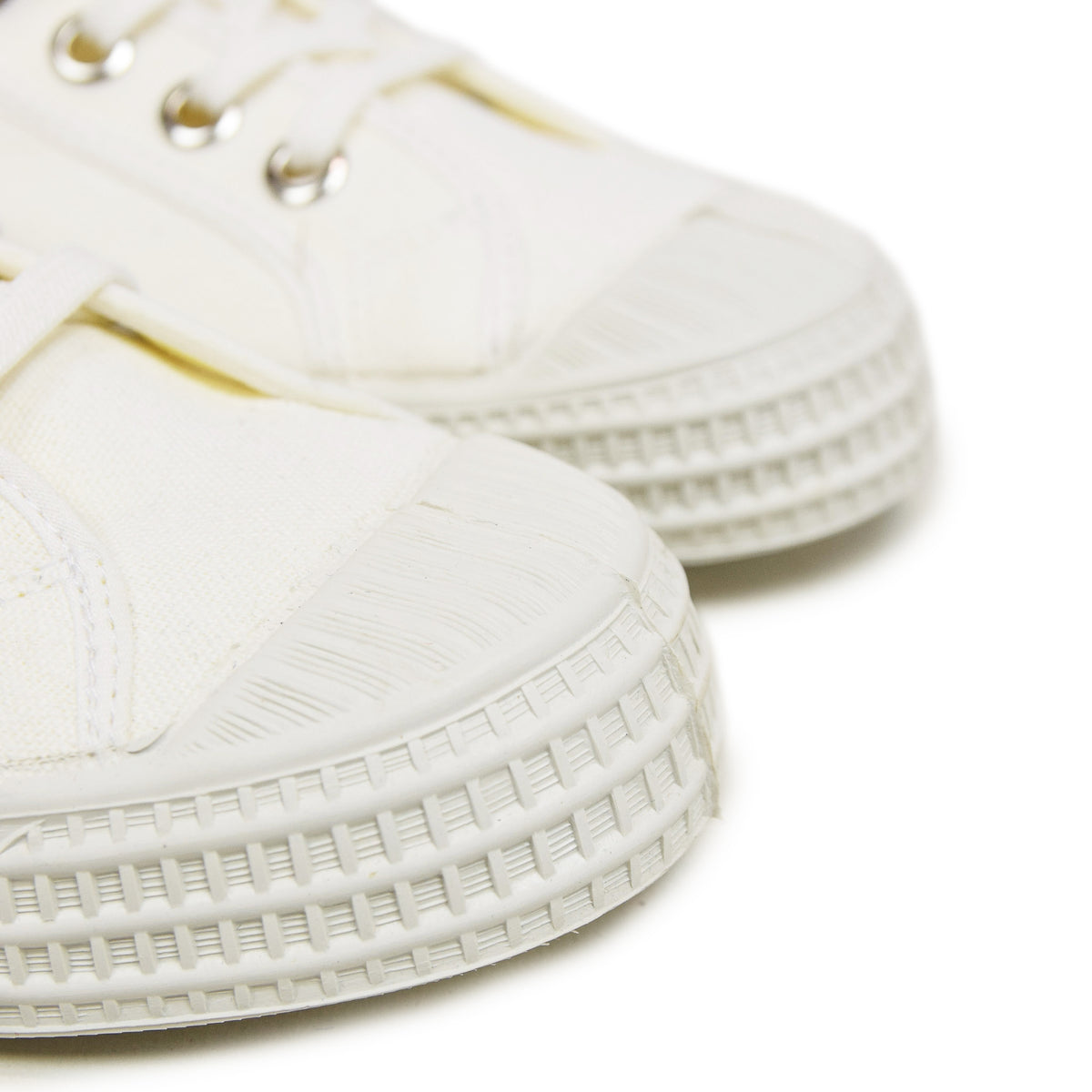 Novesta Natural Rubber Star Dribble High Tops White  rubber sole