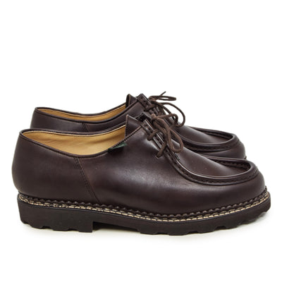 Paraboot Michael Marche II Lis Café Lace Up Leather Derby Shoe side