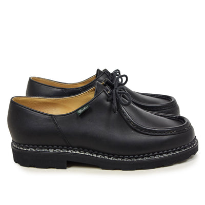 Paraboot Michael Marche II Lis Noir Lace Up Leather Derby Shoe side