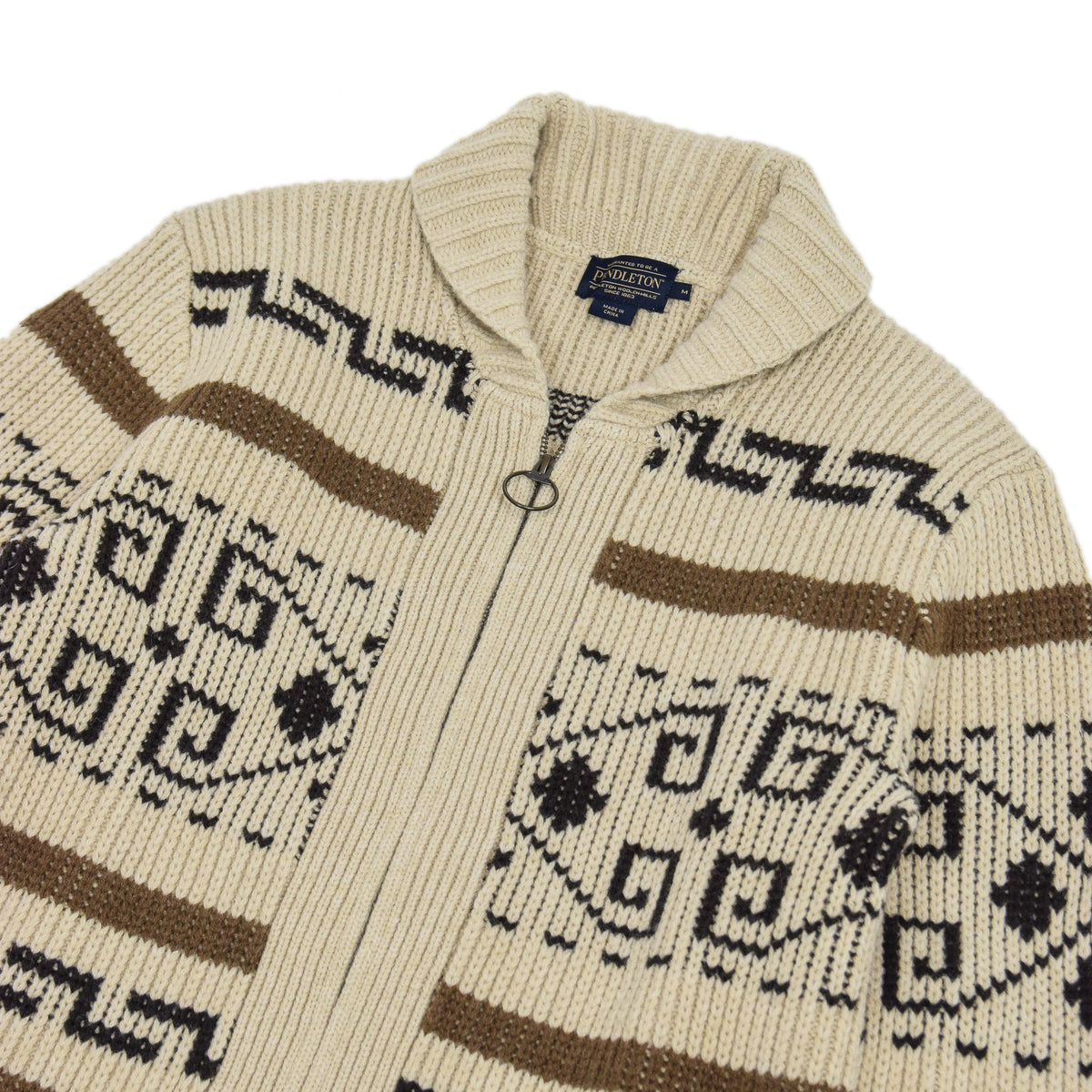 Pendleton Original Westerley Lambswool Cardigan Sweater  CHEST