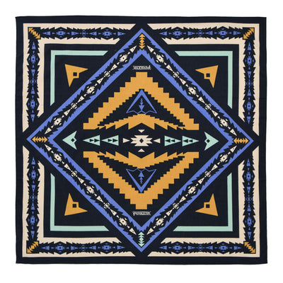 Pendleton Sierra Ridge Jumbo Cotton Bandana  pattern
