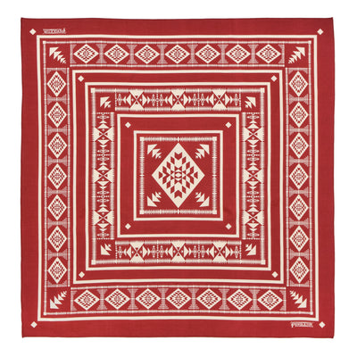 Pendleton Basket Maker Jumbo Cotton Bandana pattern