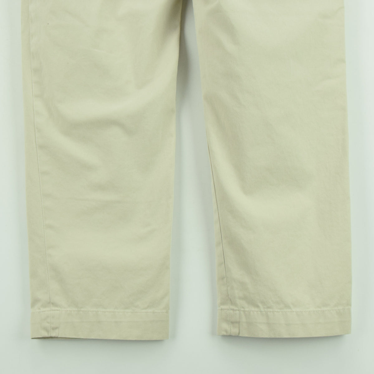 Vintage Ralph Lauren Polo Ethan Pant Chinos Pleated Front Trousers 32 W 28 L back hem
