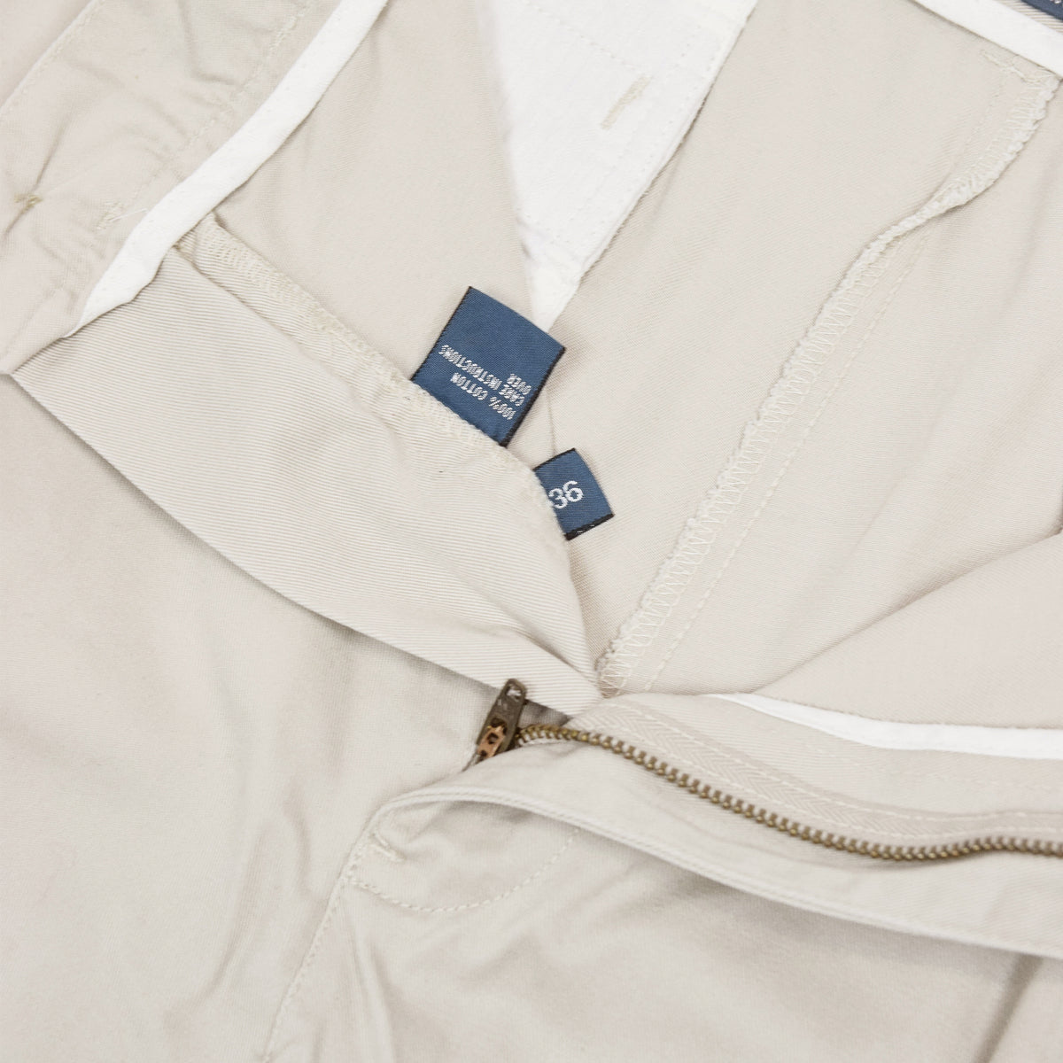 Vintage 90s Polo Ralph Lauren Tyler Cotton Double Pleated Chino Shorts 34 W internal label