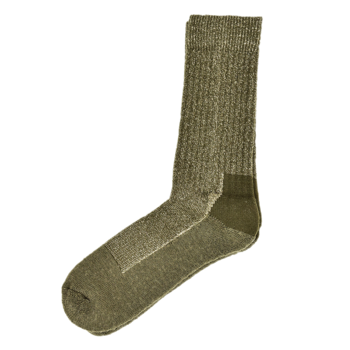 Red Wing Deep Toe Capped Socks Olive front