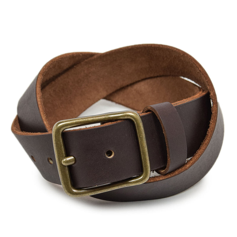 Red Wing Pioneer Leather Belt Amber front