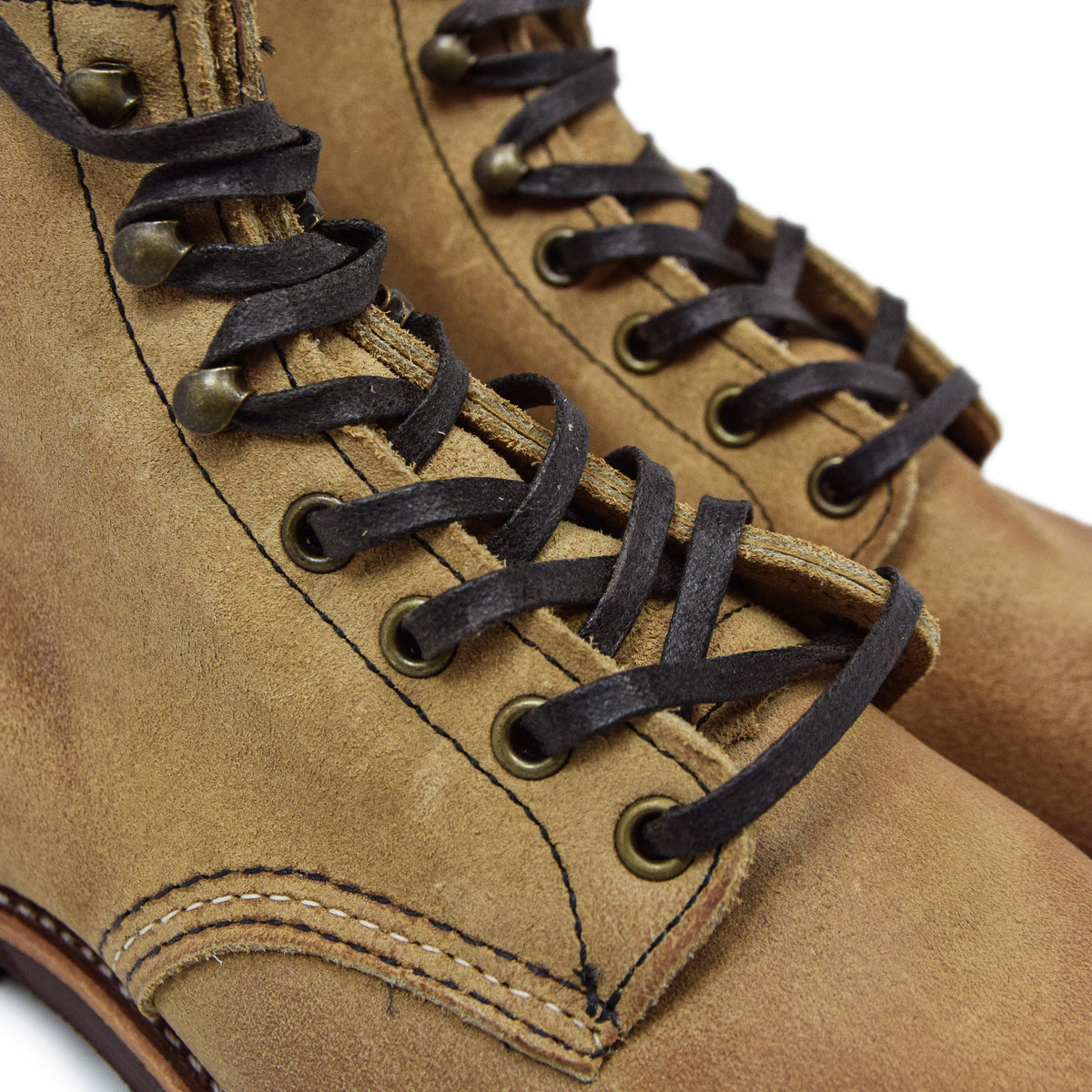 "Red Wing 3344 6"" Blacksmith Hawthorne Muleskinner Roughout Leather Boot laces"