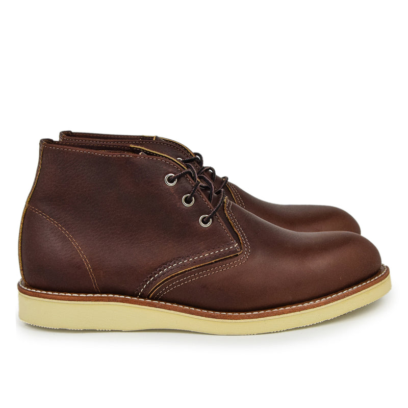 Red Wing 3141 Heritage Work Chukka Briar Oil Slick Leather Boot