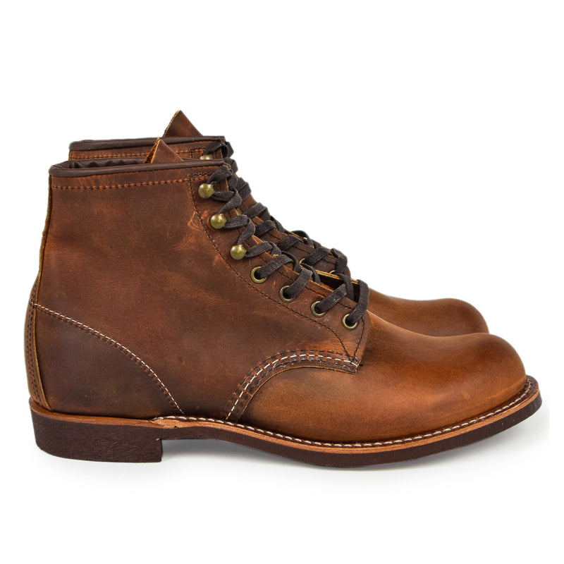"Red Wing 3343 Heritage 6"" Blacksmith Copper Rough & Tough Leather Boot"