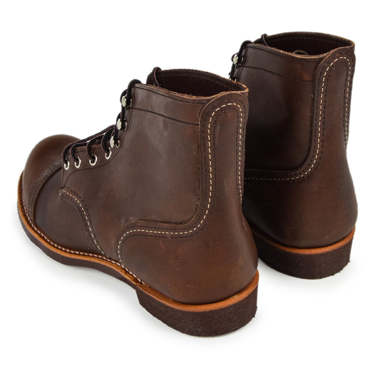 "Red Wing 8111 Heritage 6"" Iron Ranger Amber Harness Leather Boot"