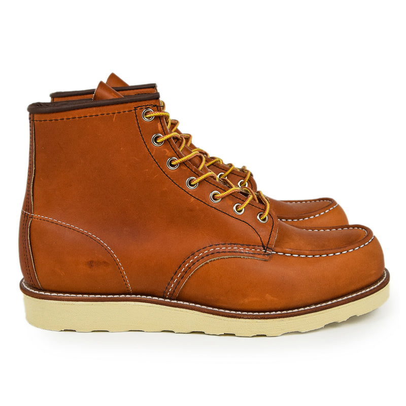 "Red Wing 875 Classic 6"" Moc Toe Heritage Oro Legacy Leather Boot"