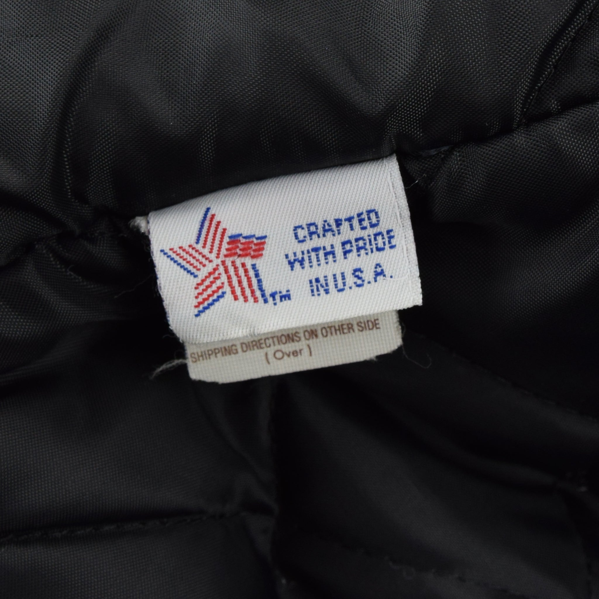 Vintage Schott NYC 740N Black Leather Pea Coat Reefer Jacket USA Made XXL / XXXL label