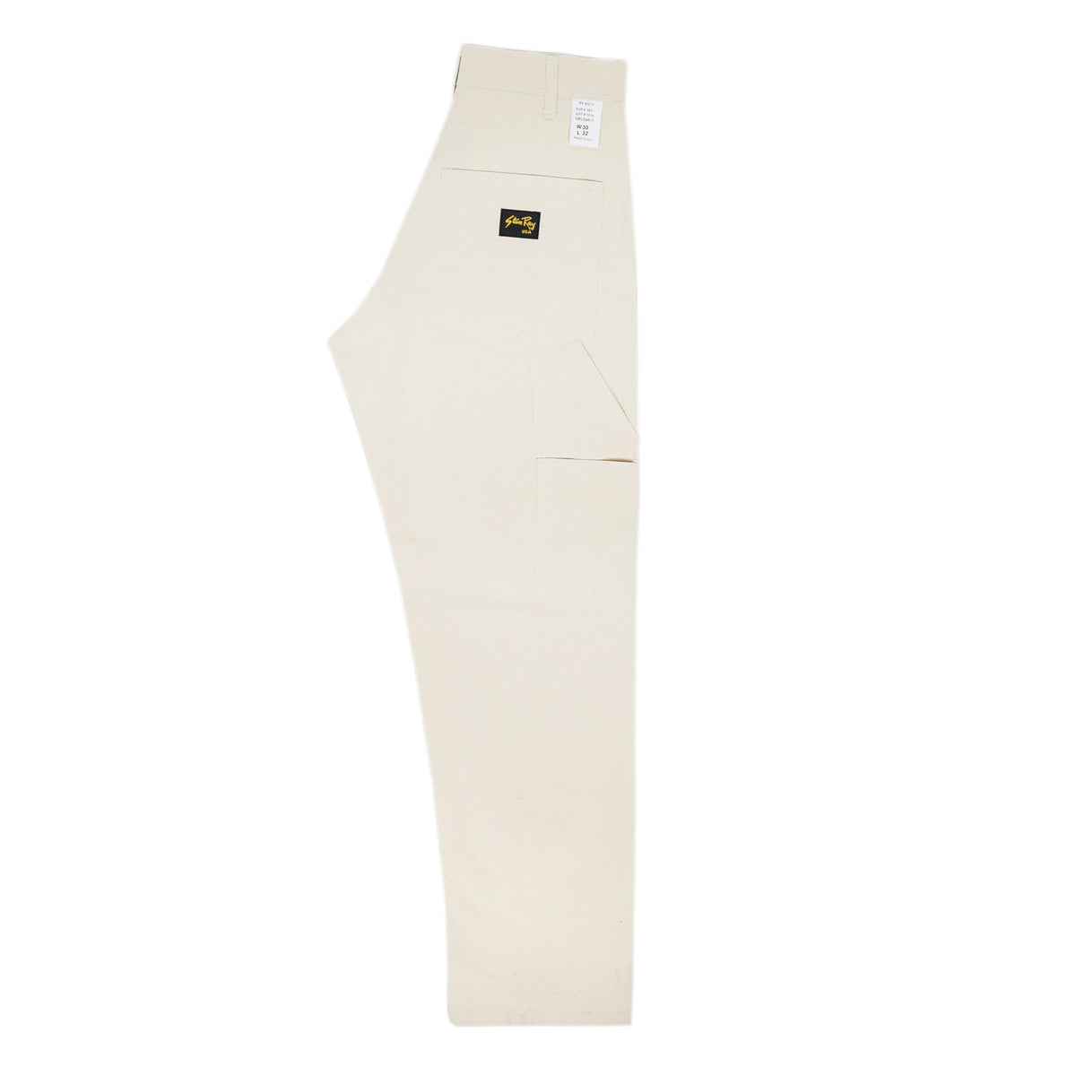 Stan Ray OG Painter Pant Natural Drill Made in USA back