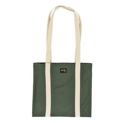 Stan Ray Olive Sateen Tote Bag front