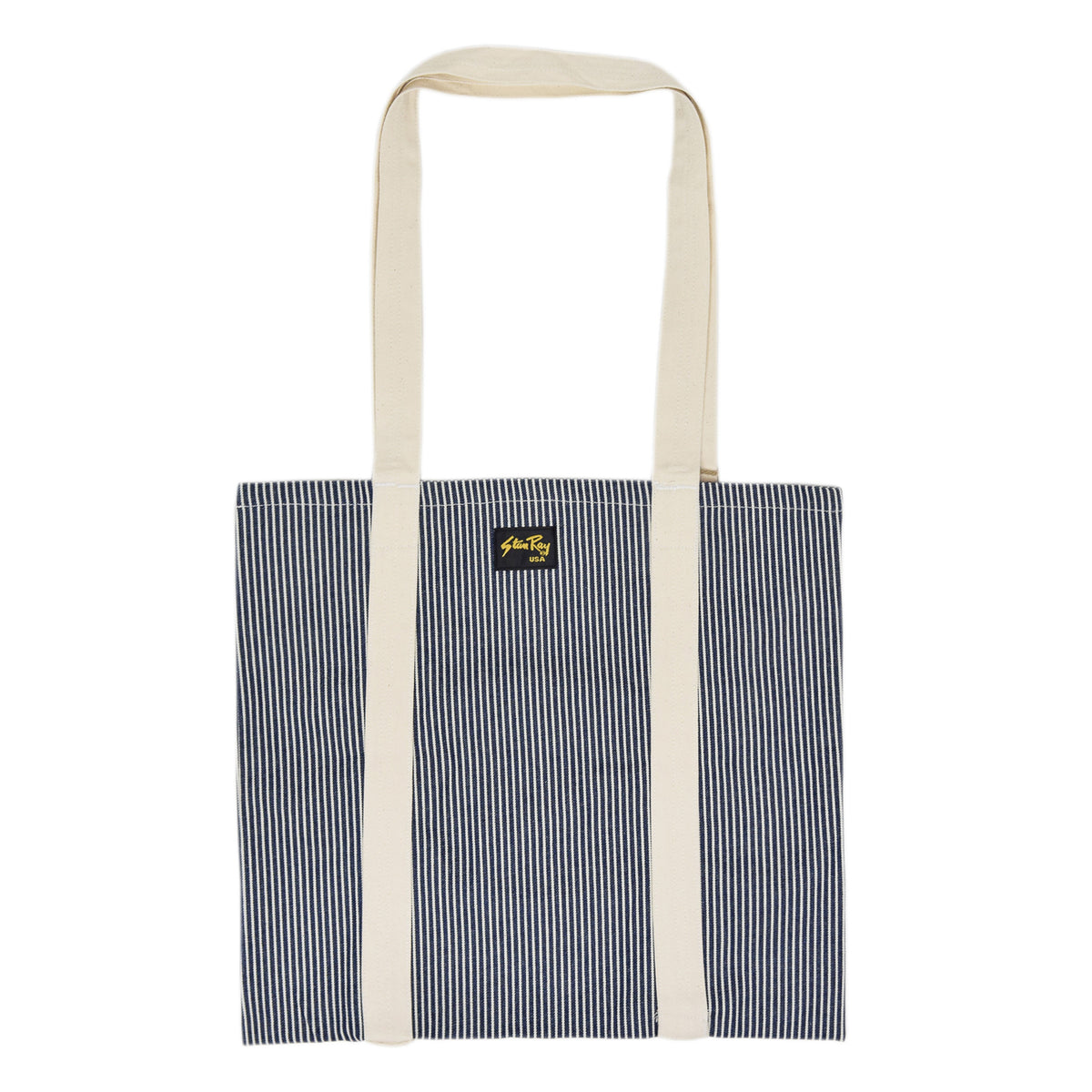 Stan Ray Hickory And Natural Patch Tote Bag front