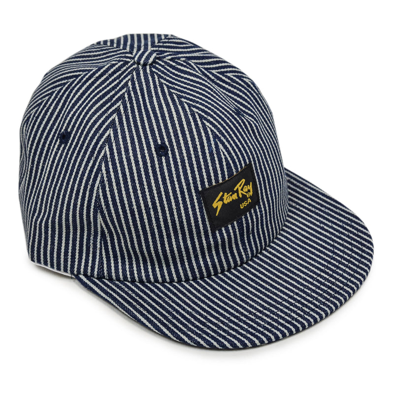 Stan Ray Ball Cap Hickory Stripe Made In USA front